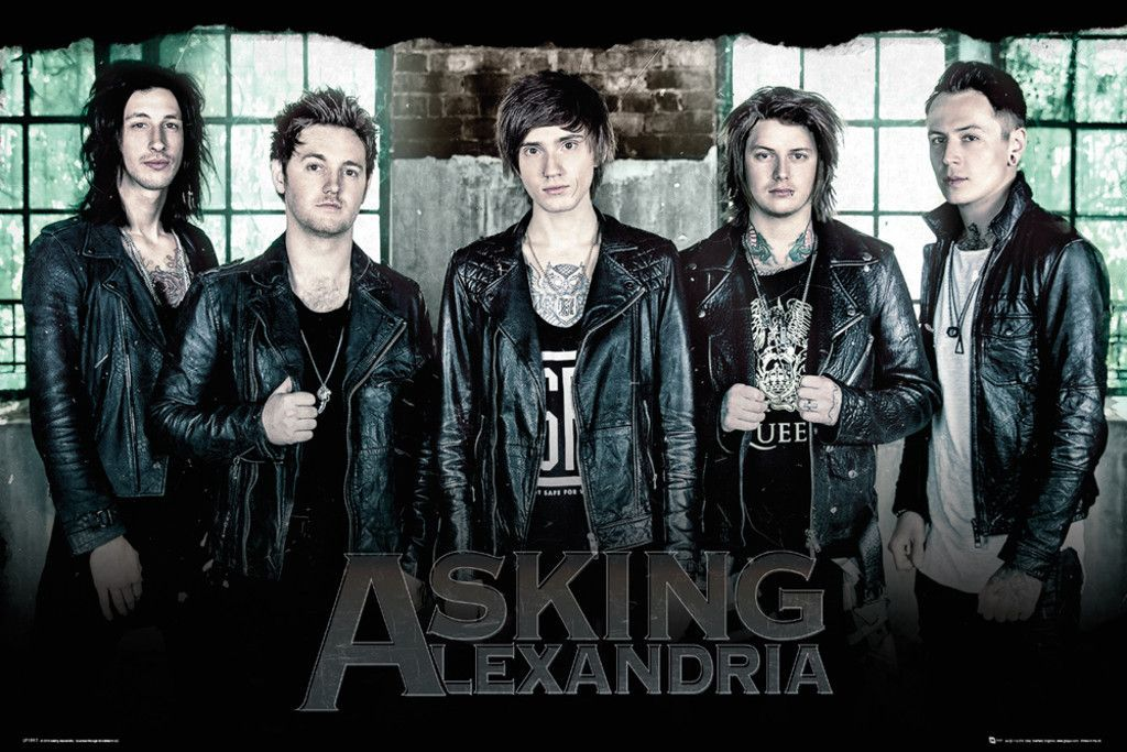 Asking Alexandria Window Official Poster Official Merchandise