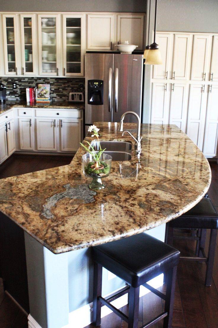 Mit Naturstein Arbeitsplatten Verbinden Sie Die Schonheiten Der Natur Mit Ihrem Liebl Kitchen Remodel Countertops Granite Kitchen Kitchen Island With Seating