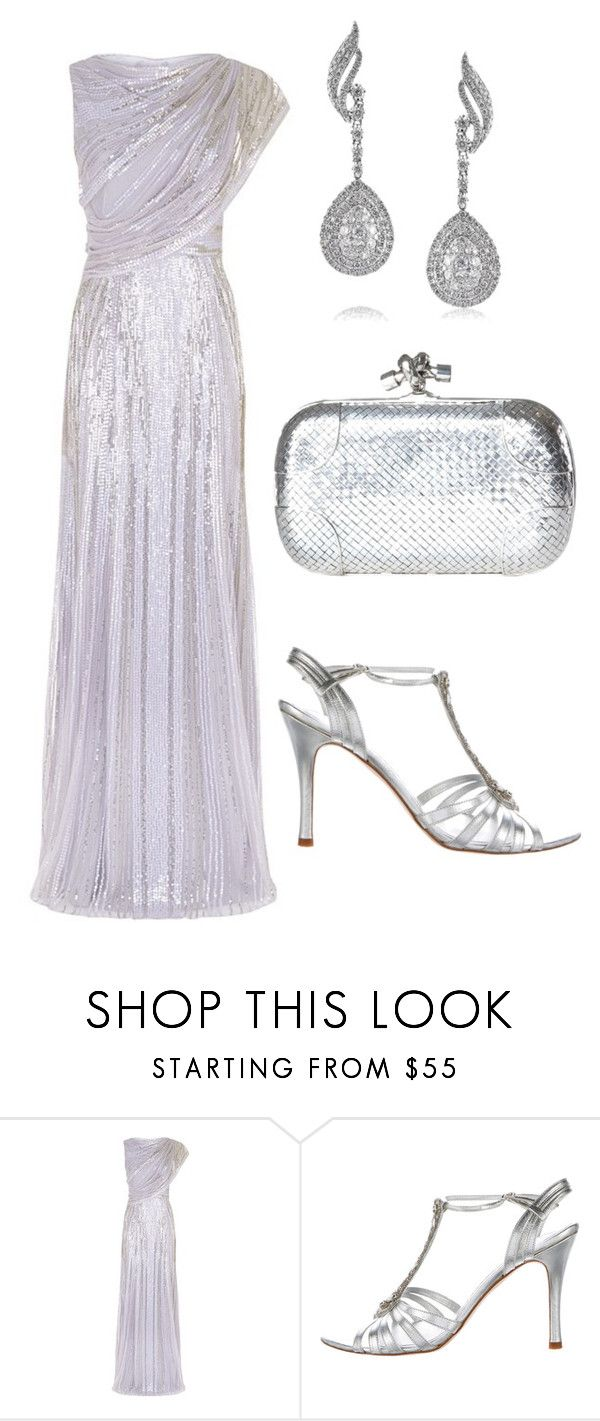 """""""Untitled #681"""" by dawn294210 ❤ liked on Polyvore featuring Jenny Packham and Mark Broumand"""