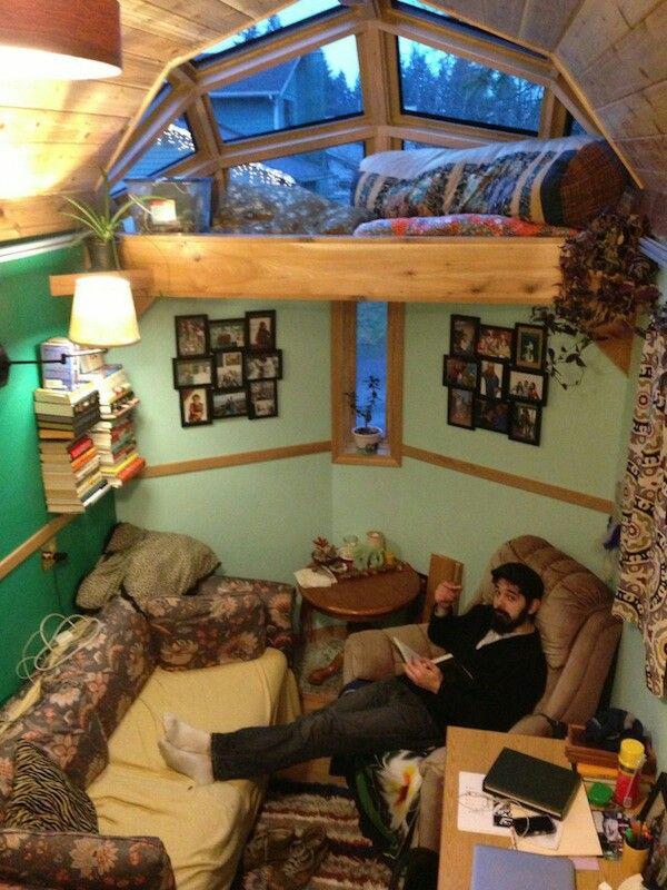 Inside Bay Window Loft