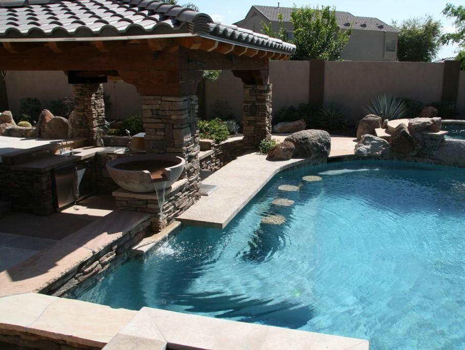 15 Awesome Pool Bar Design Ideas Pool Bar Design Pool Houses Swimming Pools Backyard