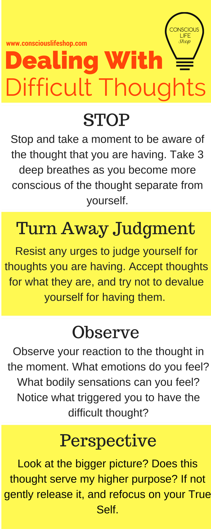 Worksheets Thought Stopping Worksheet thought stopping technique to get out of your head meditation conscious life shop