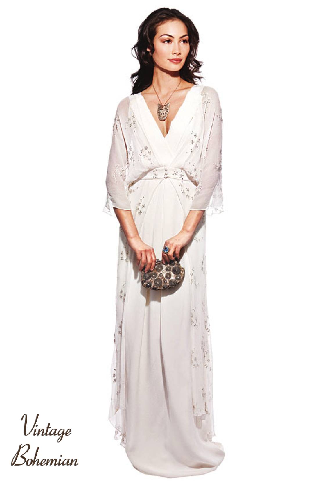Wedding Dress Bohemian Bridal Gowns Vintage Chic Styles 13