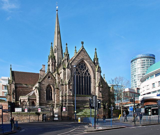 Birmingham United: St Martin's In The Bull Ring, Birmingham UK