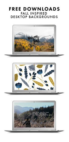 3 Fall Inspired Device Downloads Desktop Wallpapers Pinterest
