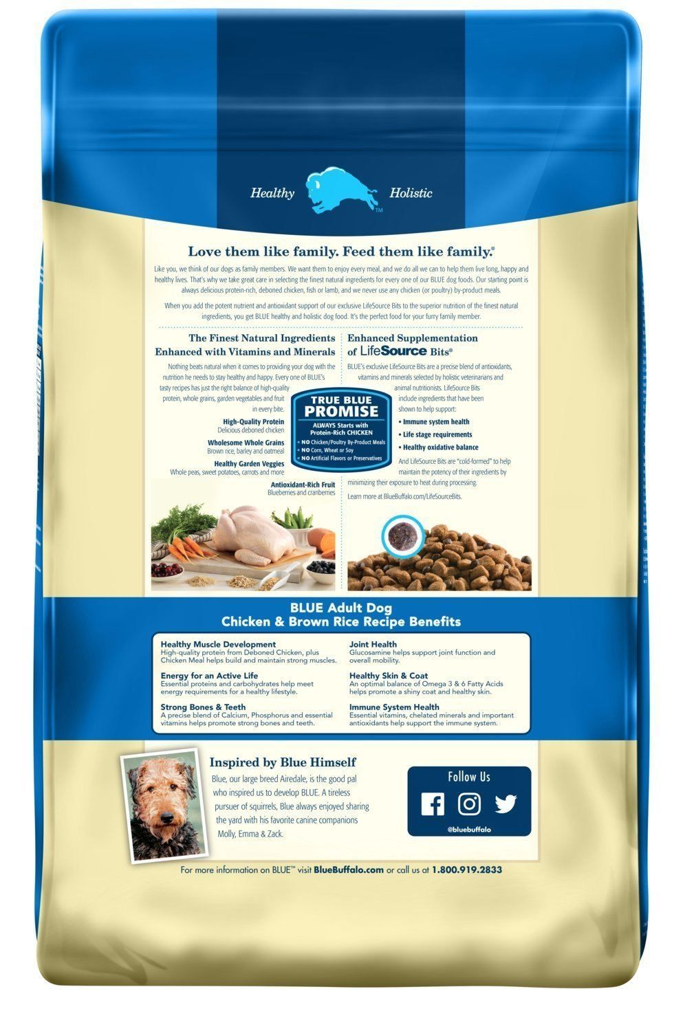 This Dog Food From Blue Buffalo Is Made With The Best Natural