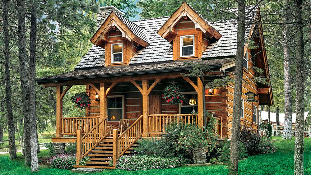 9 Cozy Cabins Under 1 000 Square Feet Log Cabin Homes Cabins In The Woods Cabin Homes