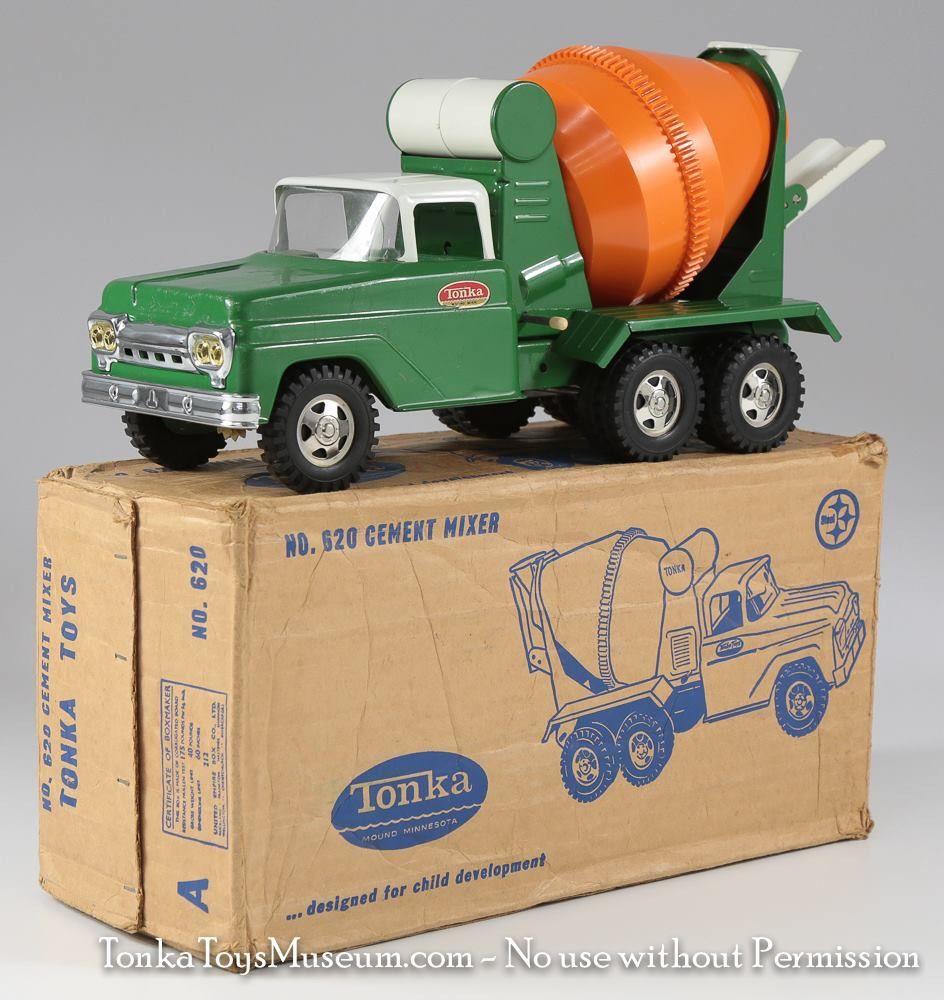 1960 Tonka No 620 Cement Mixer