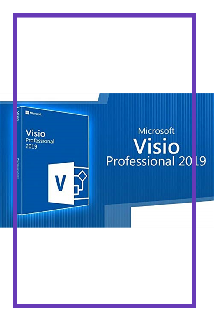 Visio Professional 2019 32/64 Bit Download Genuine License