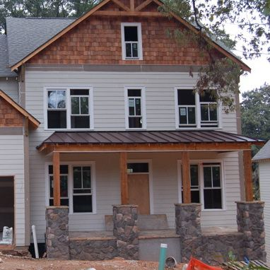 Tin Roof Back Porches | Metal Roof Porch