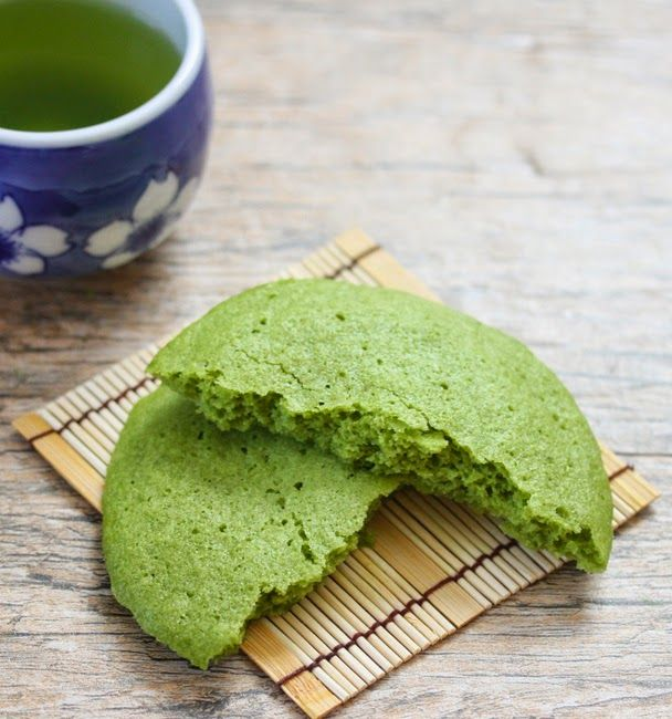 Single Serving Microwave Matcha Green Tea Cookie