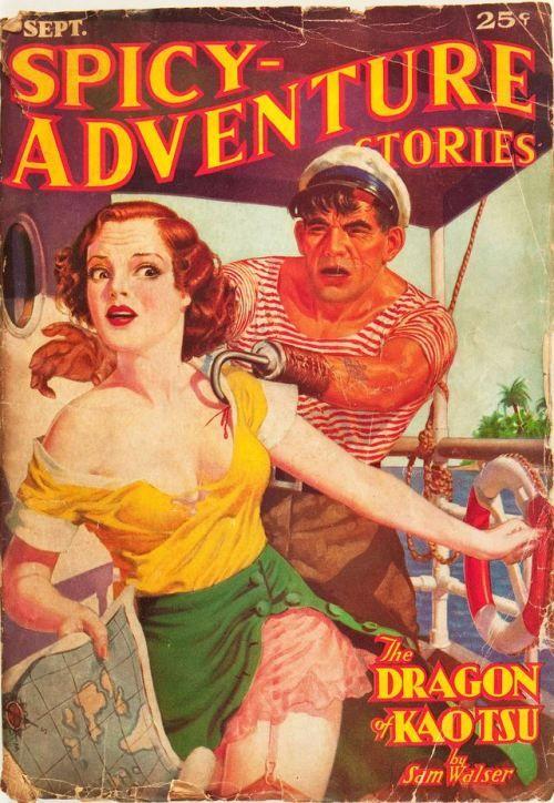 1120 25315 27830 Adventure Story Pulp Fiction Book Pulp Adventure