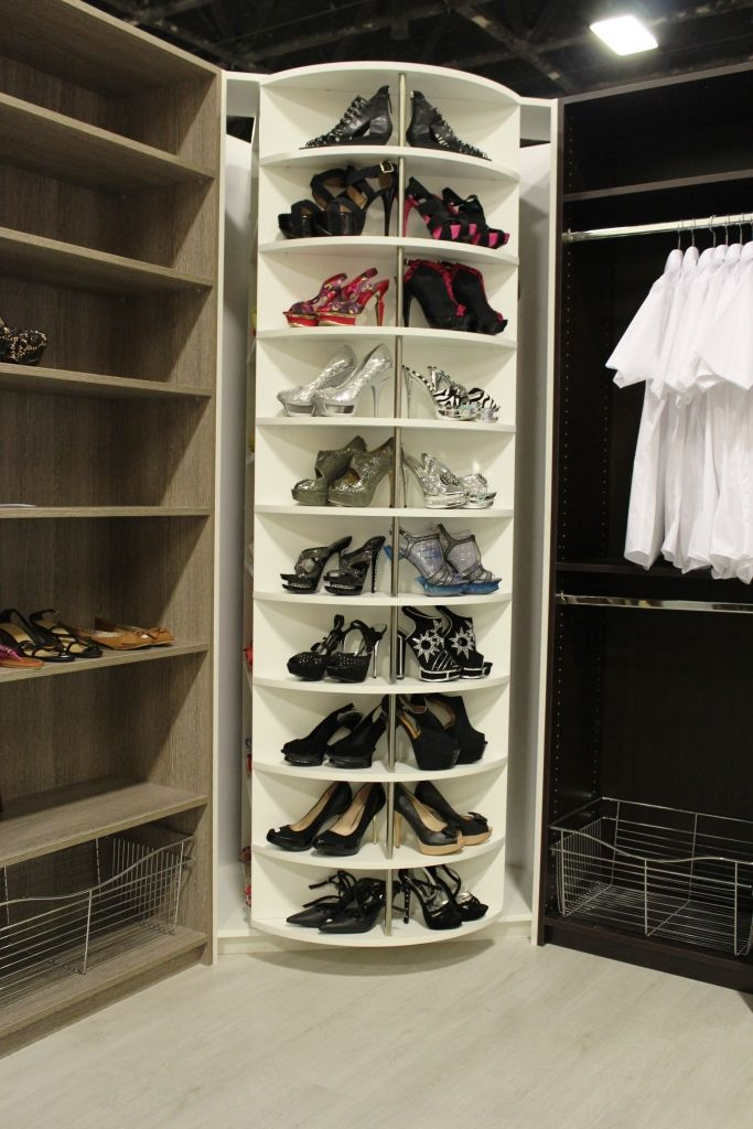 The Revolving Closet Organizer Is One Of A Kind Closet System, It Will  Increase Your Storage Capacity And Will Help You Organize Your All  Accessories.