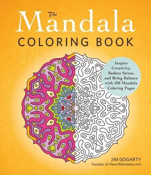 The Mandala Coloring Book Coloring Books Mandala Coloring Mandala Coloring Books