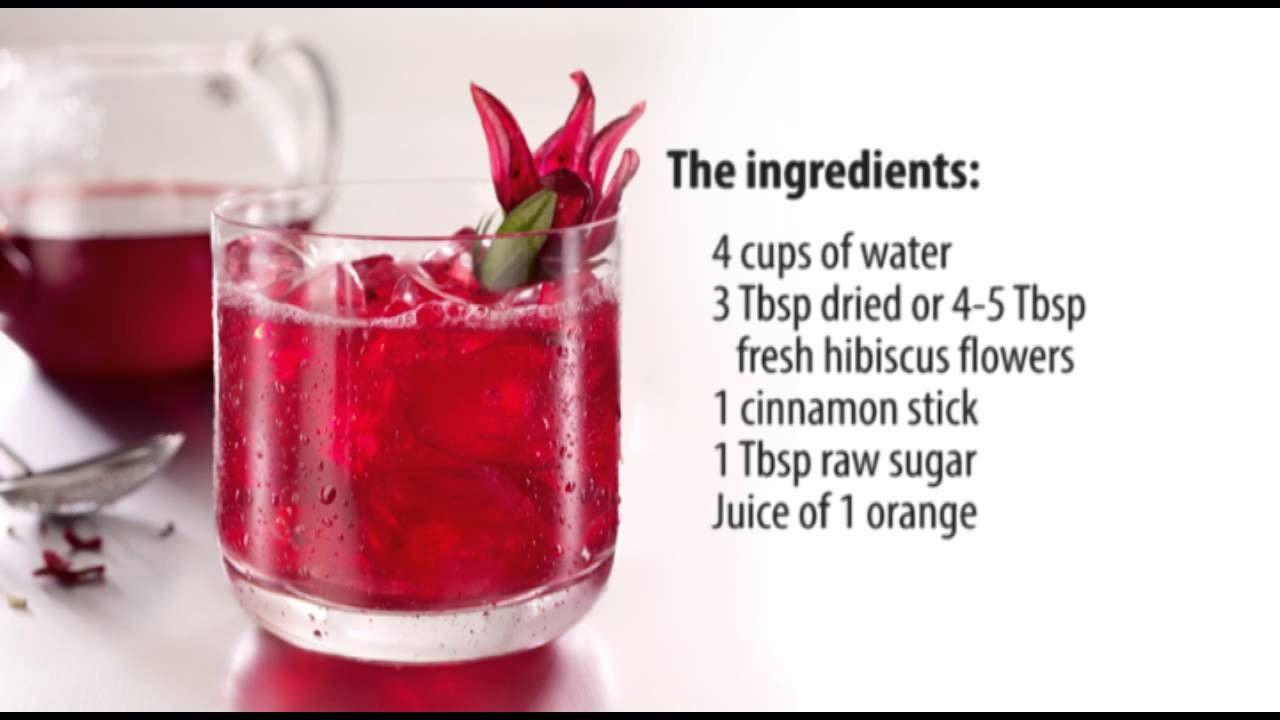 Recipe For Hibiscus Tea Hibiscus Tea Hibiscus Tea Benefits Detox Tea Recipe