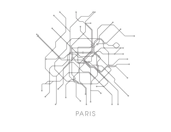 Black And White Subway Map Tapestry.Paris Subway Map Print Paris Metro Map Poster Products In 2019