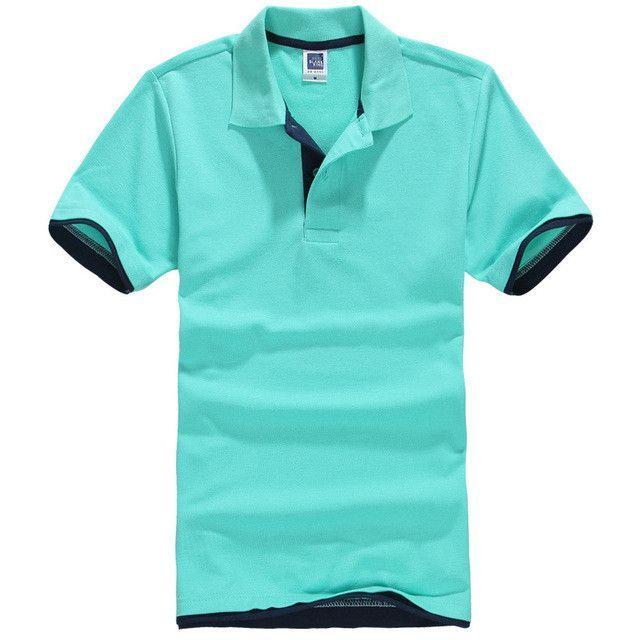 New 2017 Men's Brand Polo Shirt For Men Designer Polos Men Cotton ...
