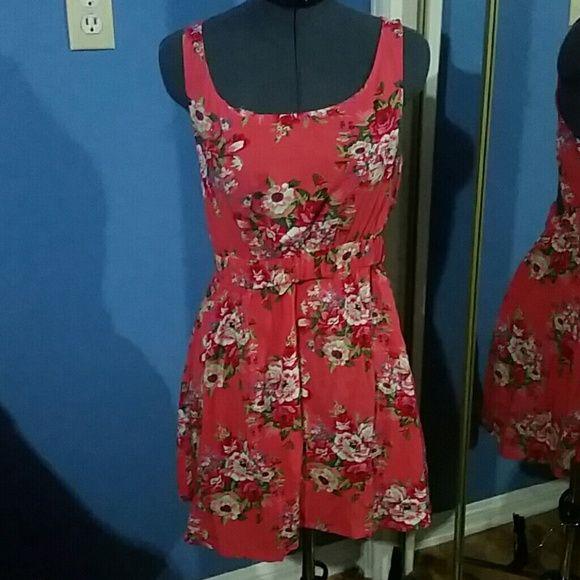 Open back floral summer dress Open back floral summer dress Wet Seal Dresses Backless