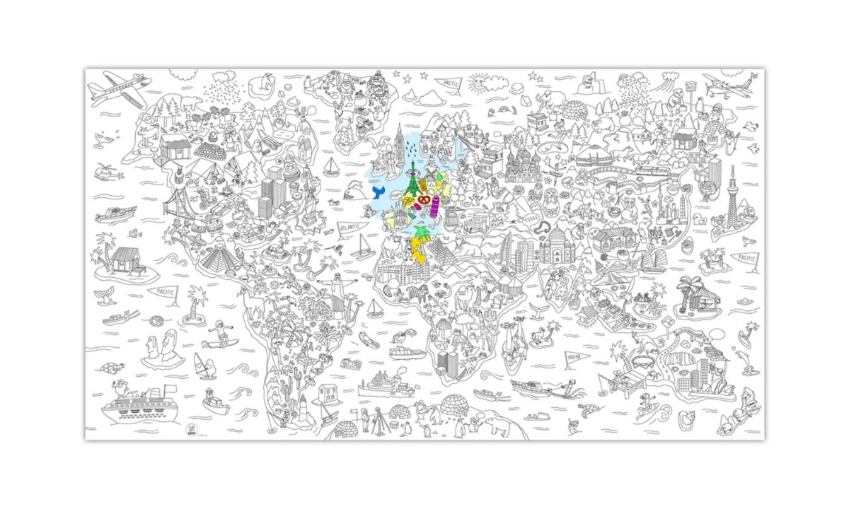 Omy Mega Kleurplaat Atlas Http Www Imama Nl Omy Kleurplaten Kleurboek Kaarten