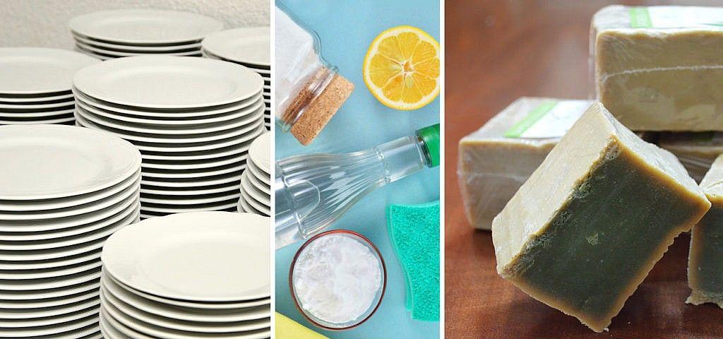 Spülmittel selber machen Rezept zum Handspülen und für