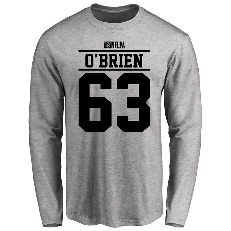 new style 15eb9 483bc Kitt O'Brien Player Issued Long Sleeve T-Shirt - Ash ...
