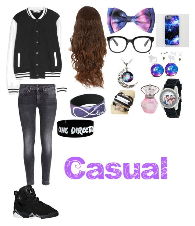 """Casual"" by cynthialovesonedirection ❤ liked on Polyvore"