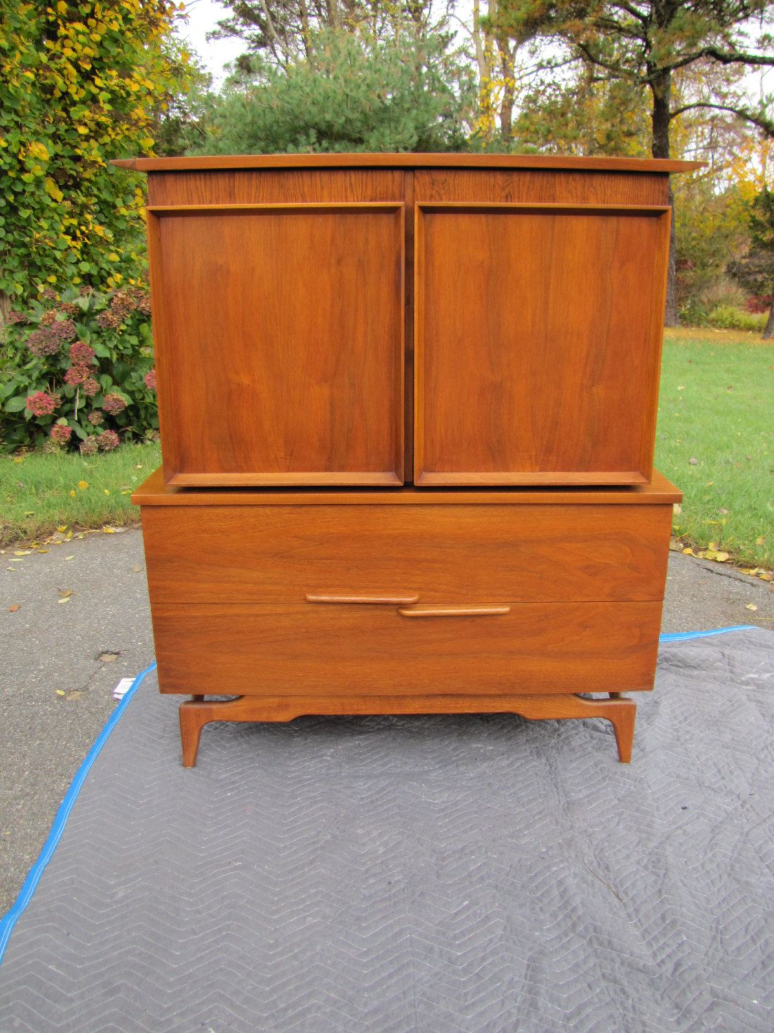 Mid Century Modern Armoire, Tall Boy Dresser, Tall Chest Of Drawers,  Gentlemanu0027s Chest