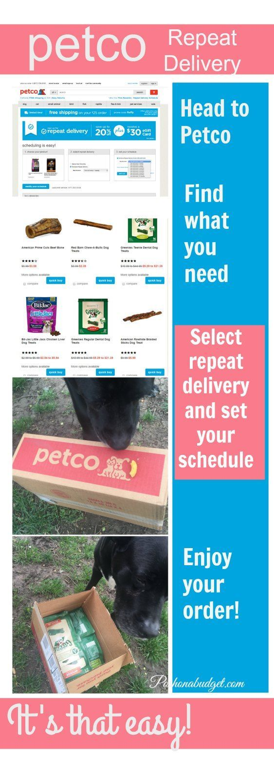 Try Petco Repeat Delivery Did you know that Petco has