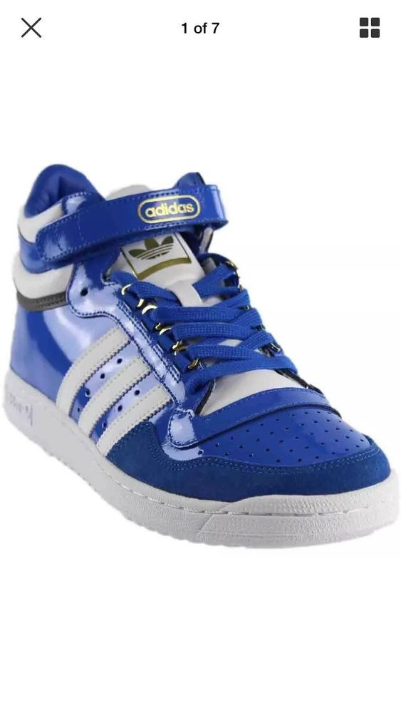 Adidas Concord II Mid Men's Casual Shoes BB8777 Blue White Gold Size 9.5 | Adidas  concord, Casual shoes and Adidas