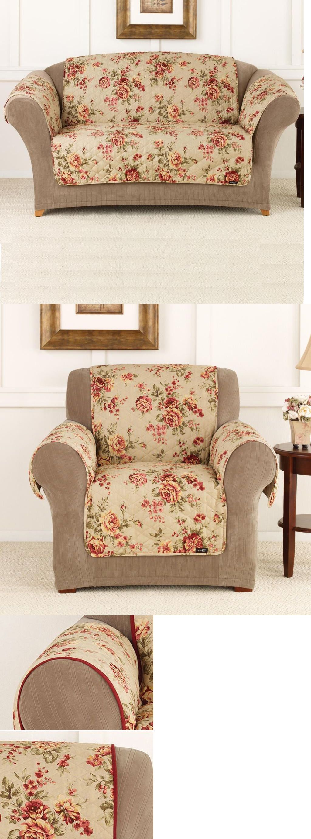 Slipcovers Pet Furniture Covers Floral Print Throw Sofa