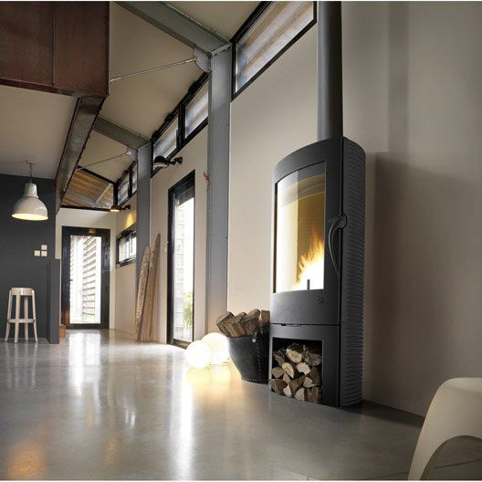 Poele A Bois Invicta Argos Anthracite 6151 44 12 Kw Wood Burner