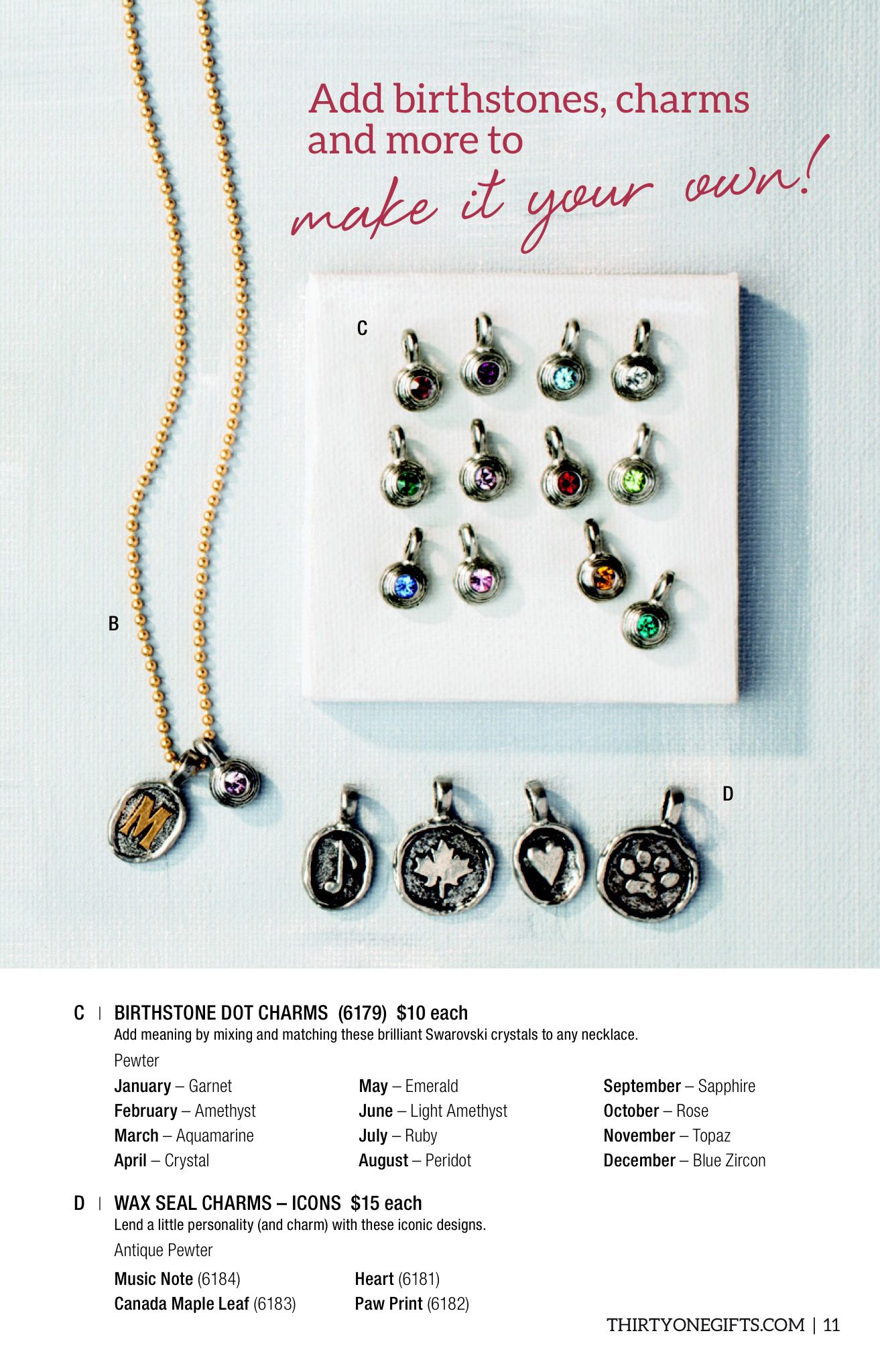 JK Jewelry by Thirty One Gifts Spring Summer 2015 Shop now