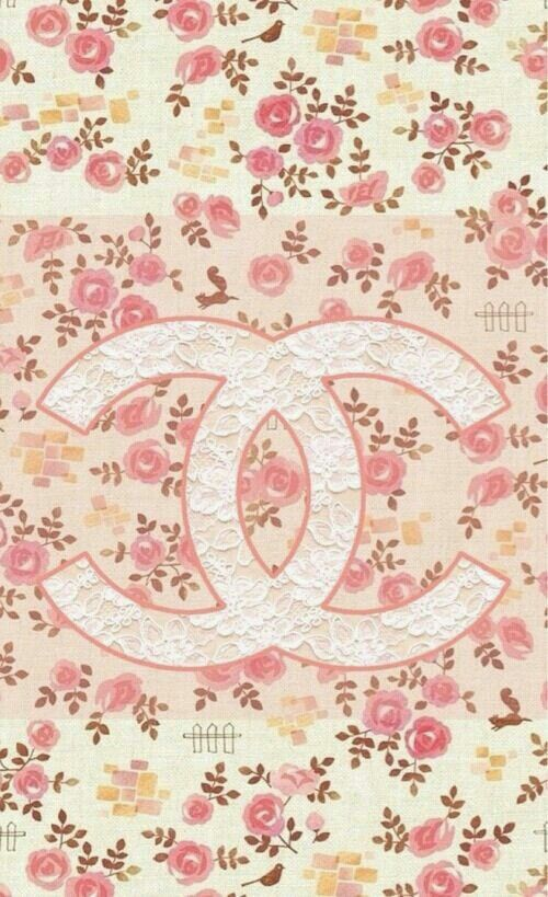Cute Shabby Chic Vintage Chanel Iphone Wallpaper Inlove