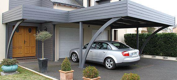 photo abri voiture carport garage bois abri voiture et garage. Black Bedroom Furniture Sets. Home Design Ideas