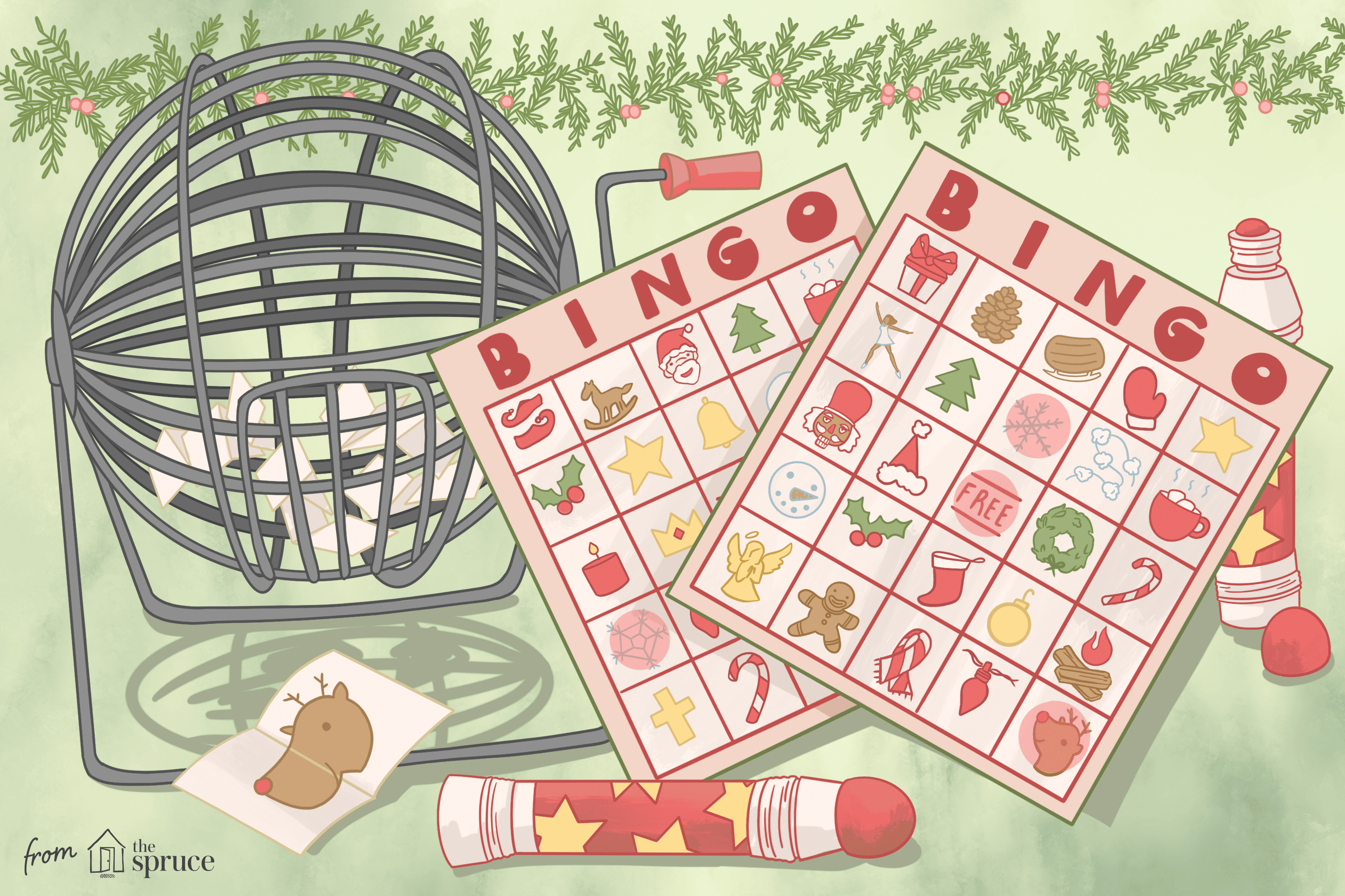 11 Free Printable Christmas Bingo Games For A Family Fun