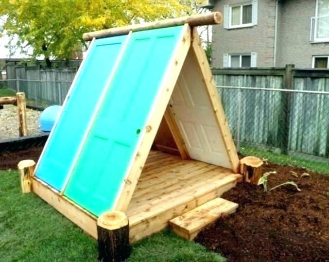 kids wooden fort backyard fort kit backyard fort kit ...
