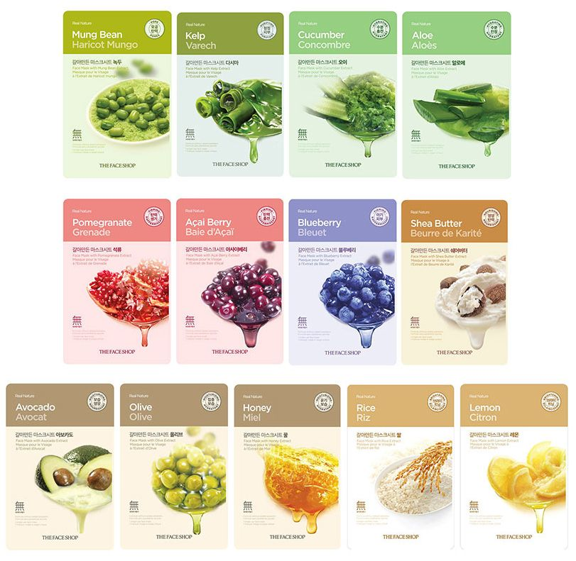 The Face Shop Living Nature Grind Mask Sheet 15pcs Put on the Whole Armor of God Ephesians 6:13:17 Soldier Challenge Coin