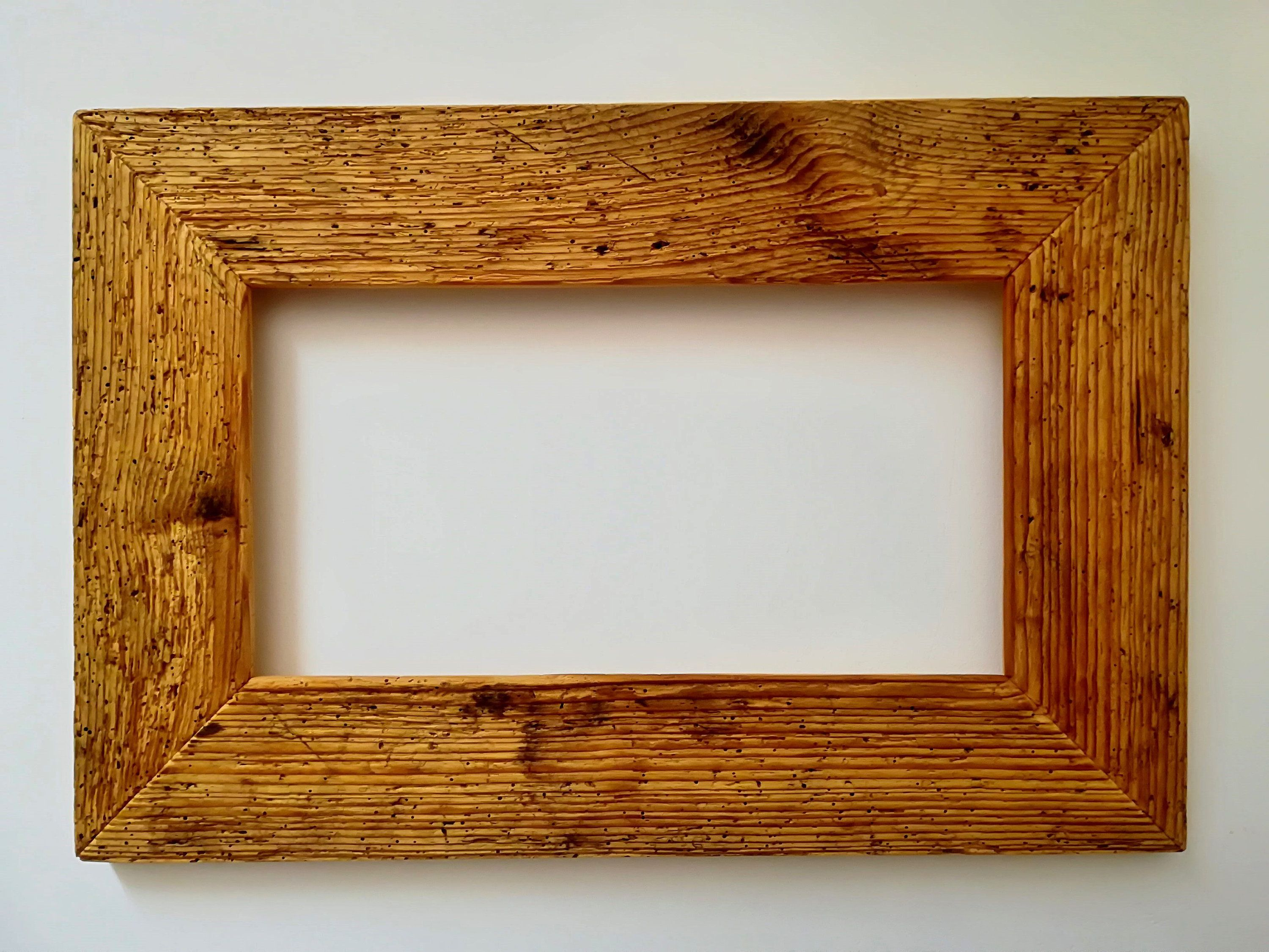 Old wood-picture frame, 54/36 | Altholz-Bilderrahmen | Pinterest ...