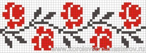 Схемы вышивок украинского орнамента