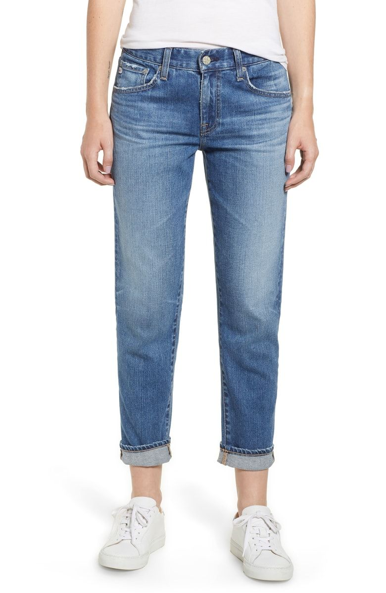 77e553503 Ex-Boyfriend Relaxed Slim Jeans, Main, color, 15 Years Blue Shift ...