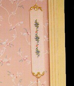 Pair Of Dolls House Miniature Victorian Brass Bell Pulls