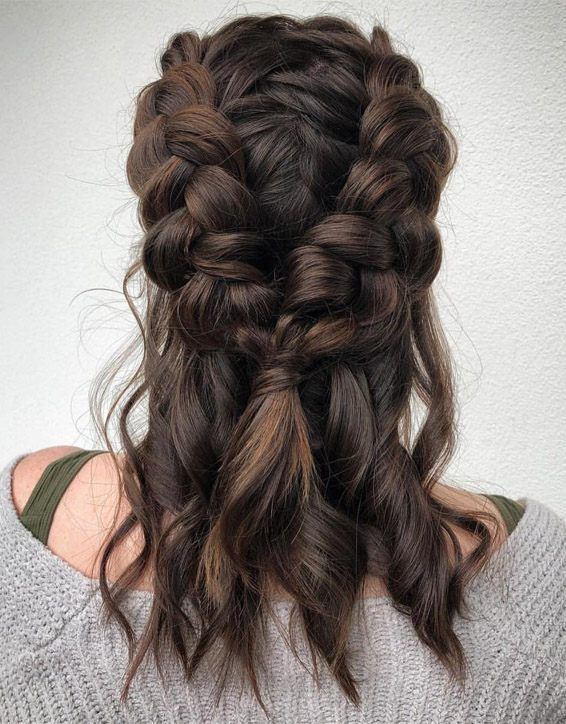 Photo of Double Dutch Perfect Braids Frisur für mittleres Haar
