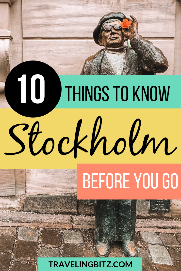 Going to Stockholm, Sweden? Here's everything you should know. From the fika culture to currency, food and alcohol, and transportation and shopping tips. #stockholm #sweden