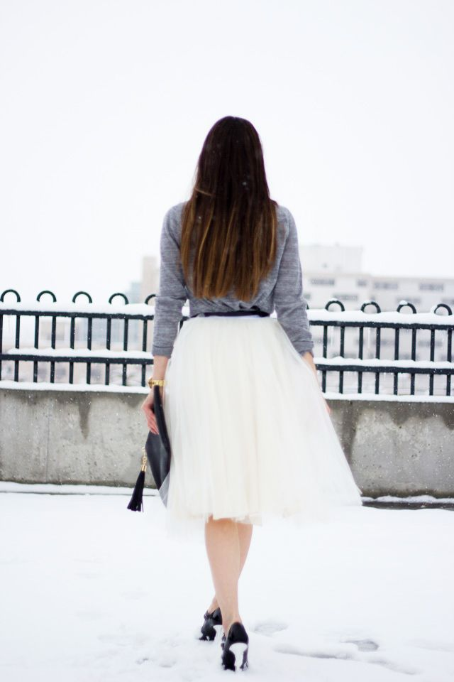C: DIY tulle skirt tutorial