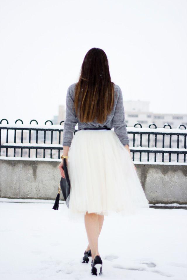 C: DIY tulle skirt tutorial