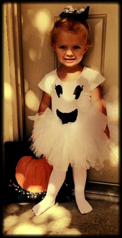 Ghost Costume Baby Girls Halloween Fancy Dress