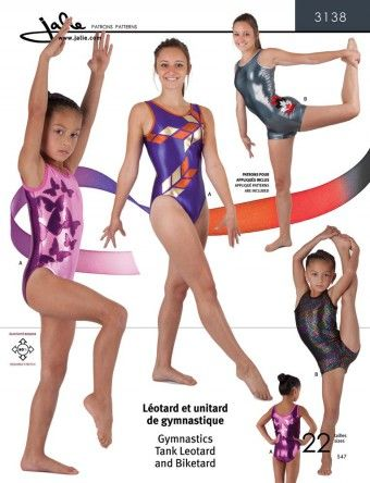 Jalie 3138 Turnpakjes, gymnastiekpakjes en balletpakjes | GYMNASTICS ...