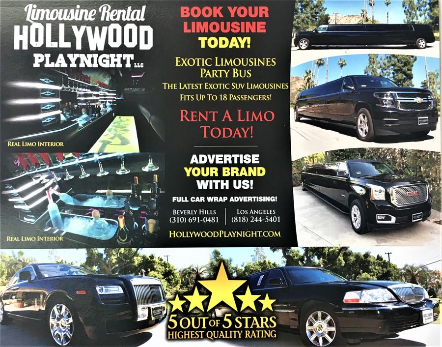 Limousine Services In Los Angeles For Bookings Call 818 244 5401