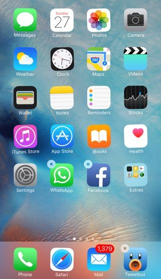 How to move or delete apps on iPhone 6s without triggering