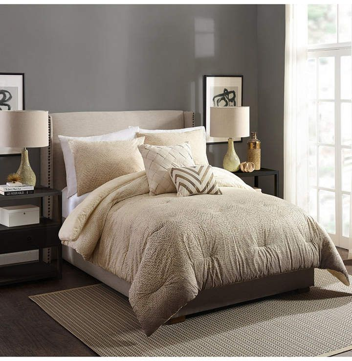 Ayesha Curry Modern Ombre Full/Queen 3 Piece Comforter Set Bedding